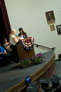 Citizenship award is presented to student
