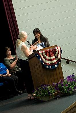Presentation of Citizenship Award
