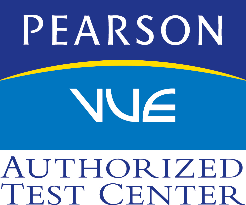 Logo: Pearson Vue Authorized Test Center